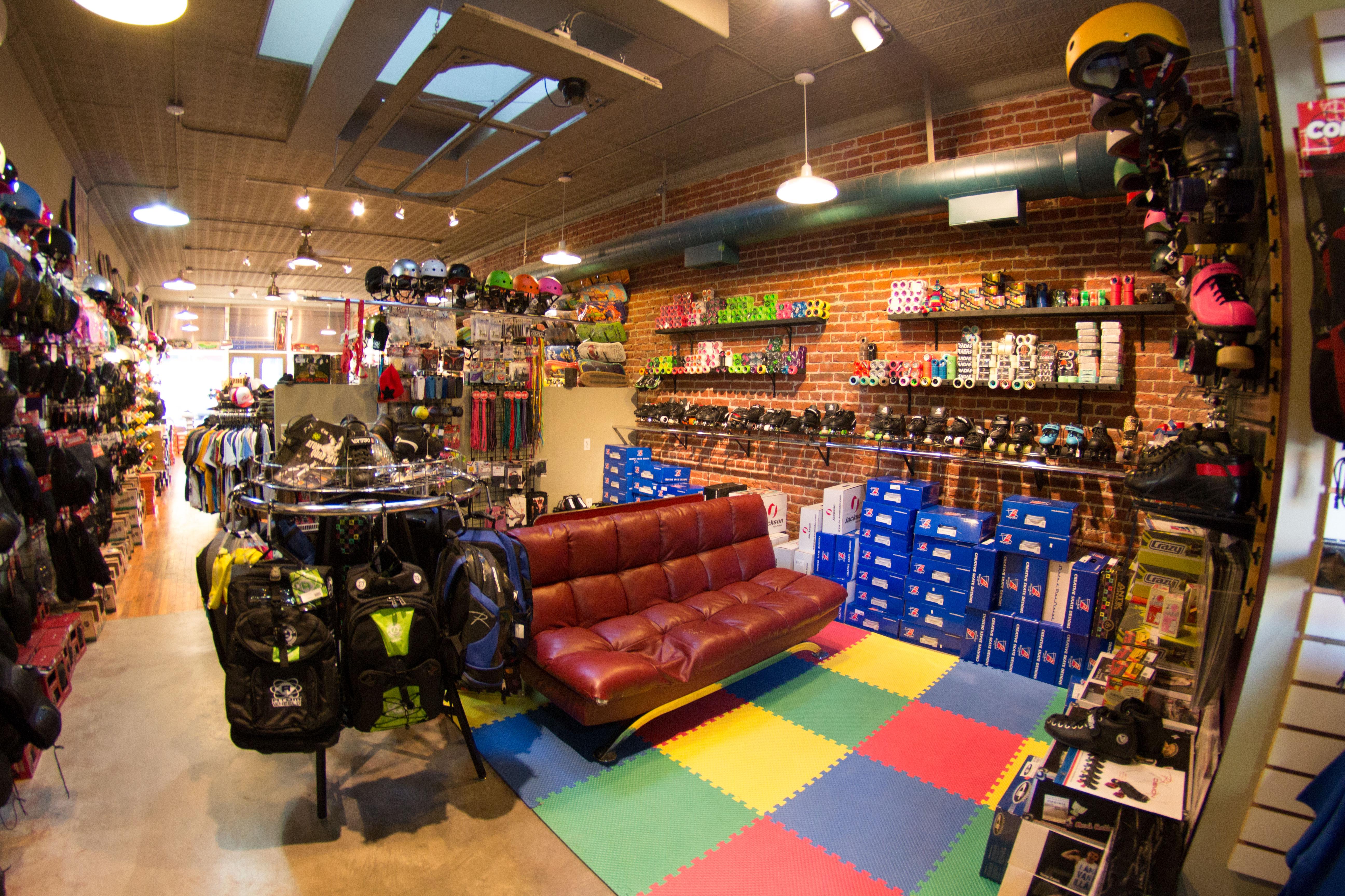 check out 2952d f7f3a Skate Ratz - skate shop Photo Tour 343 e. 4th st Loveland ...